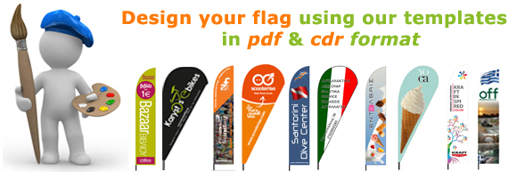 flag design templates in cdr and pdf format