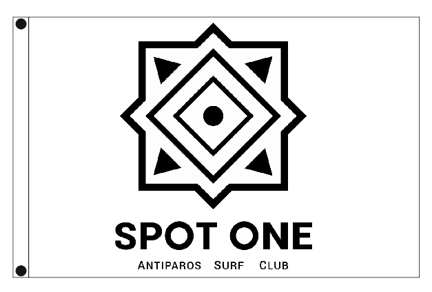 outdoor flags 150x100cm for Surf Club KITE SPOT ONE